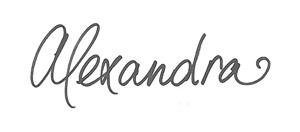 Alexandra_handtekening